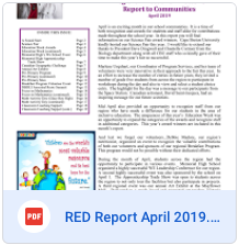 RED Report April 2019