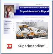 Superintendent Report - January 2018