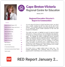 Regional Education Director Report
