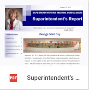 Superintendent Report - Oct 2017