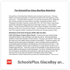 Schools Plus - Glace Bay/New Waterford